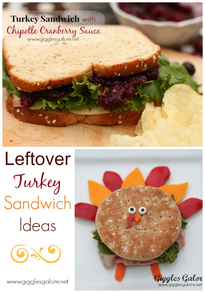 Leftover turkey sandwiches with chipotle cranberry sauce for How to make leftover turkey sandwich