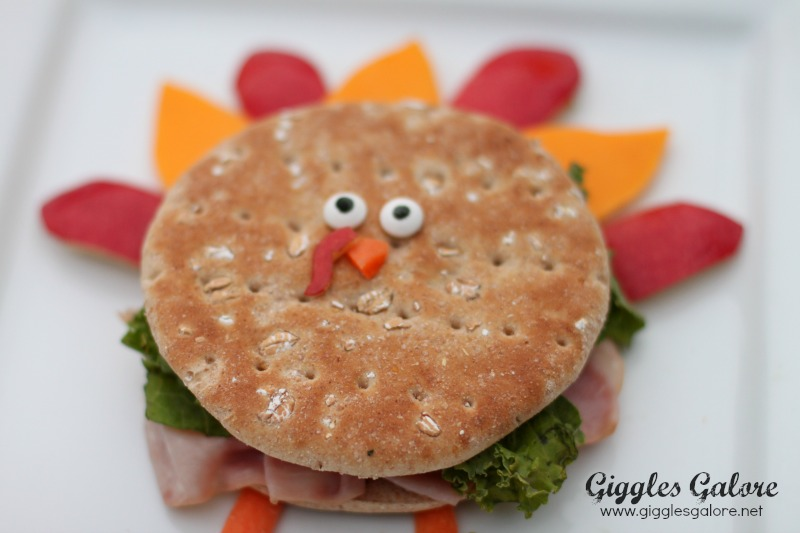 Sandwich Thin Thanksgiving Turkey Sandwich