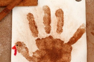 Sugar and Spice Handprint Turkey Banner