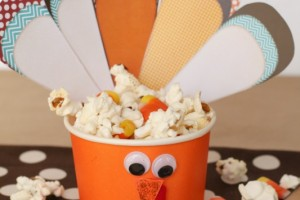 Turkey Treat Cups