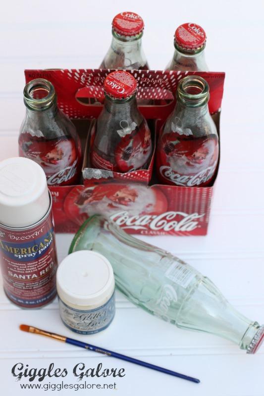 Coke Bottle Santa Supplies