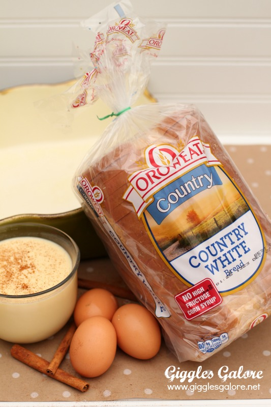 Country White Eggnog French Toast
