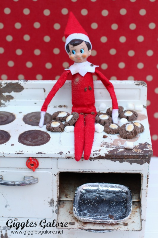 Elf on the Shelf Mini Hot Cocoa Cookies