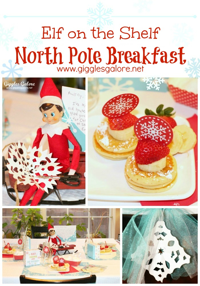 Elf on the Shelf North Pole Breakfast Giggles Galore