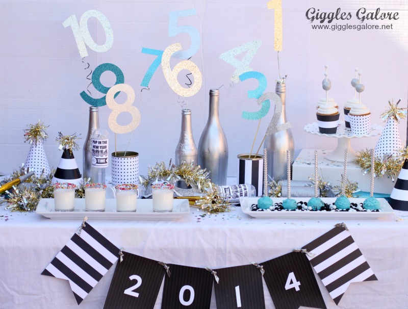 Giggles Galore Kid Friendly NYE Party