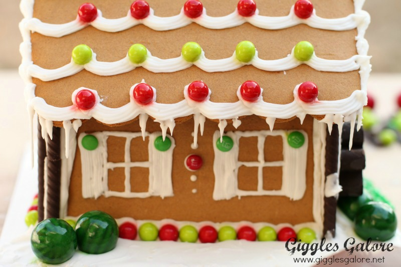Gingerbread House with Icicles