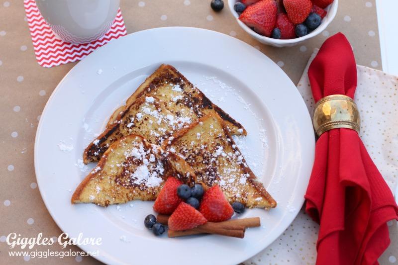 Holiday Eggnog French Toast