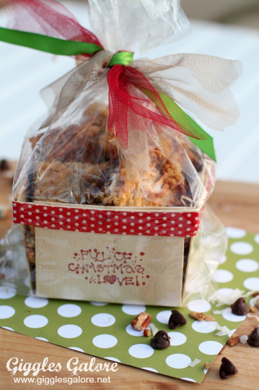 Magic Cookie Bars Full of Christmas Love