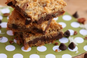 Magic Cookie Bars www.gigglesgalore.net