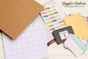 Michaels Recollection Calendar Kit Pages