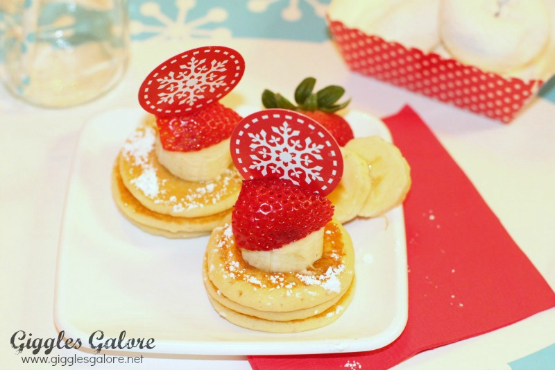 North Pole Mini Pancakes