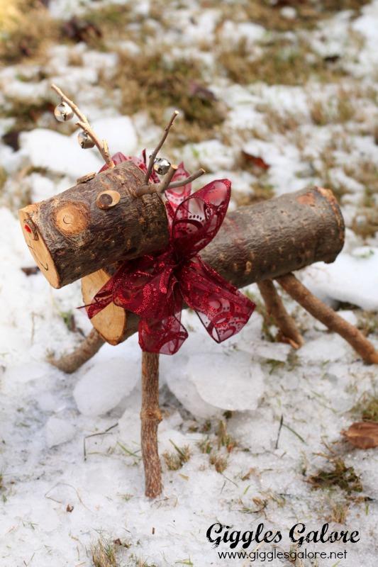 Rudolph Wooden Reindeer