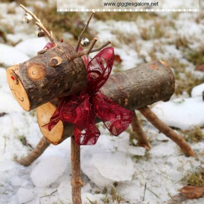 Rudolph the Wooden Reindeer