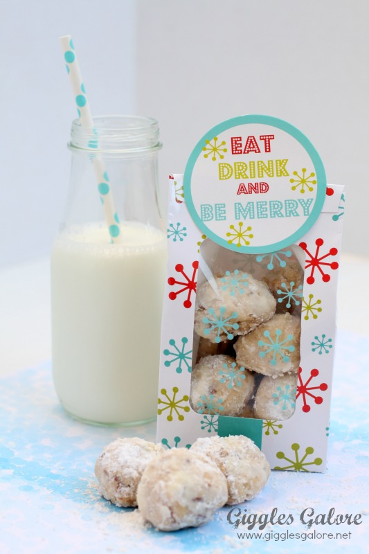 Snowball Cookie Gifts