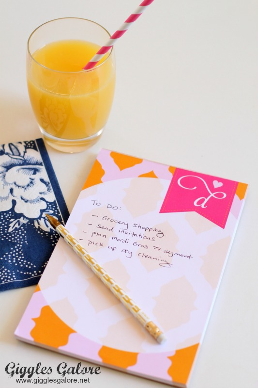 A Blissful Nest Notepad