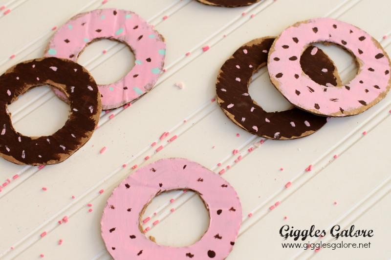 Cardboard Donuts