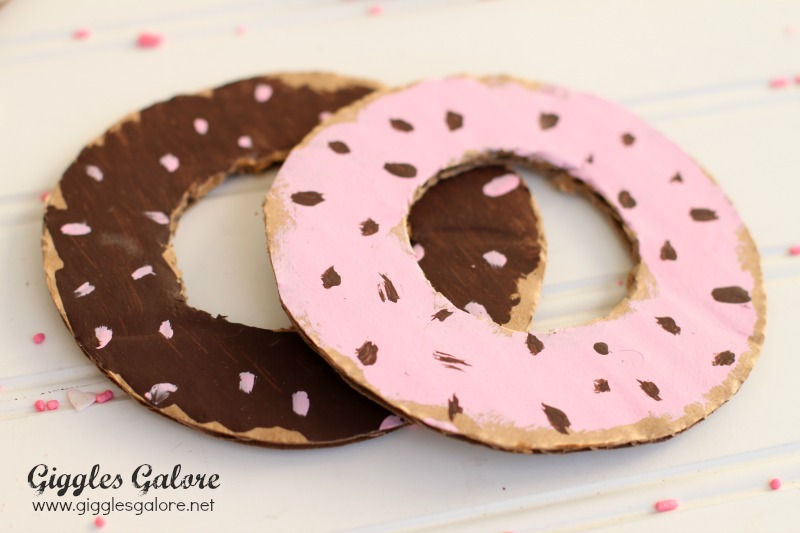 DIY Cardboard Donuts