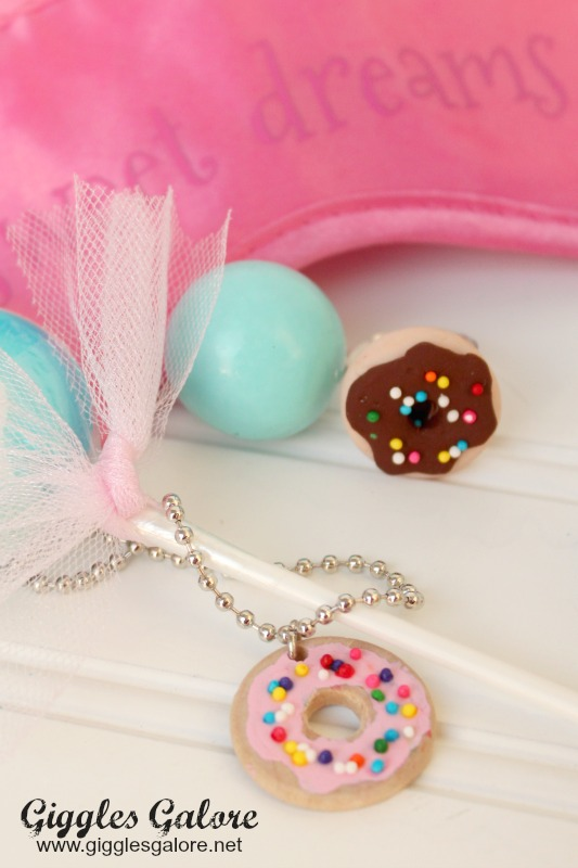 Donut Jewelry Party Favor