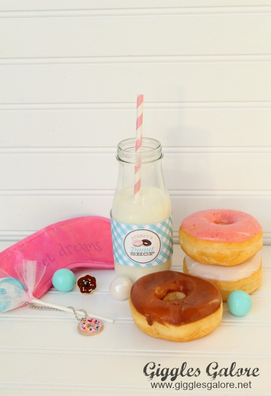 Donut Party Favors