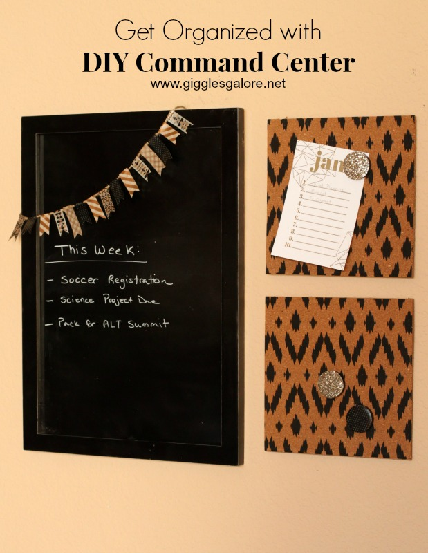 Get Organized with DIY Command Center