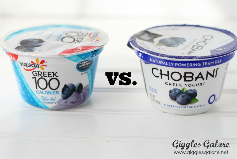 Yoplait vs Chobani Taste Off