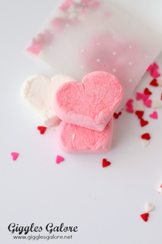Cupid Cocoa Heart Shaped Marshmallows