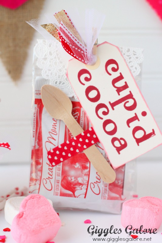 Cupid Cocoa Packets