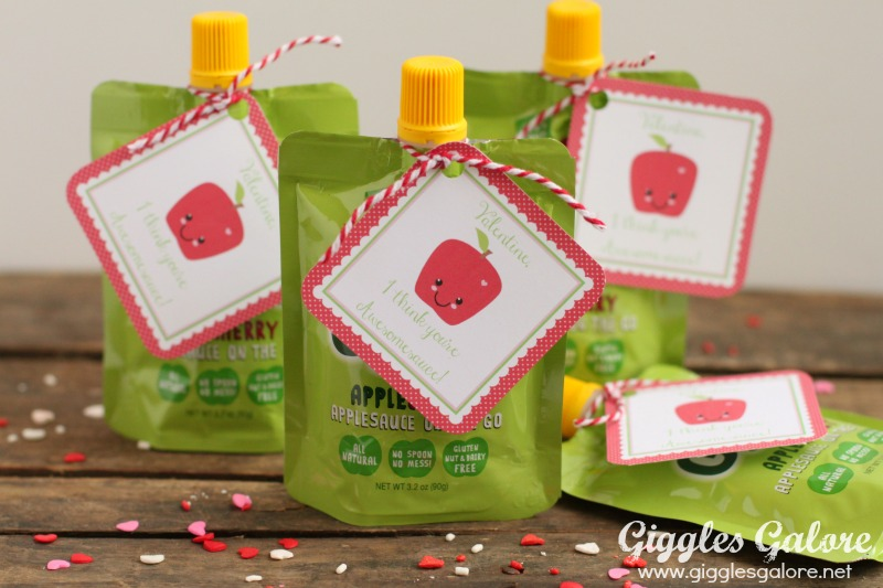 GoGo Squeeze Awesomesauce Valentine
