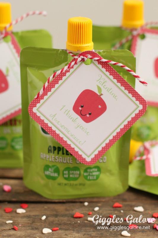 GoGo Squeeze Preschool Valentines