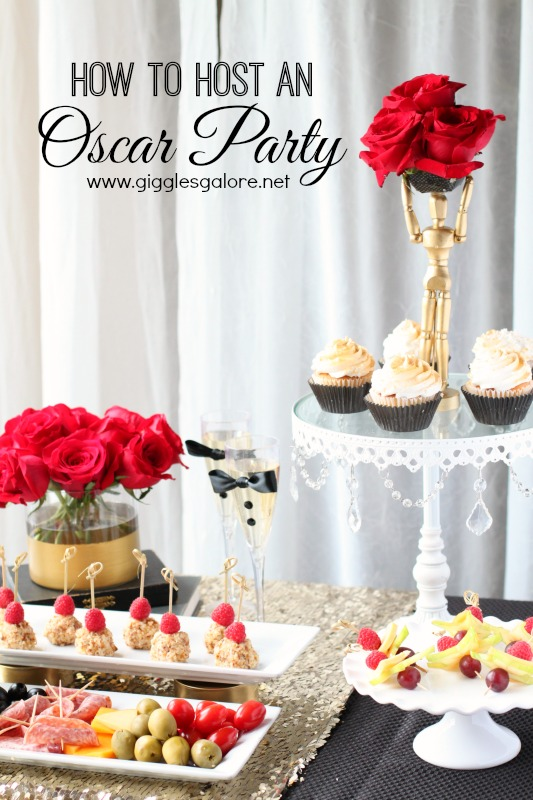 How to Host An Oscar Party Giggles Galore