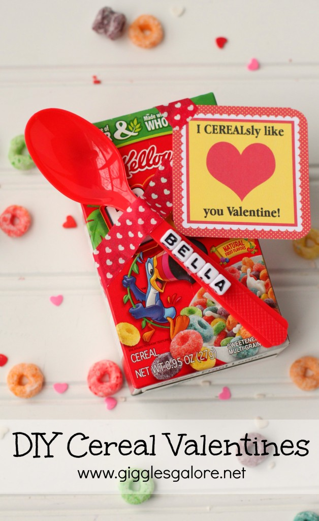 Personalized DIY Cereal Valentines_Giggles Galore