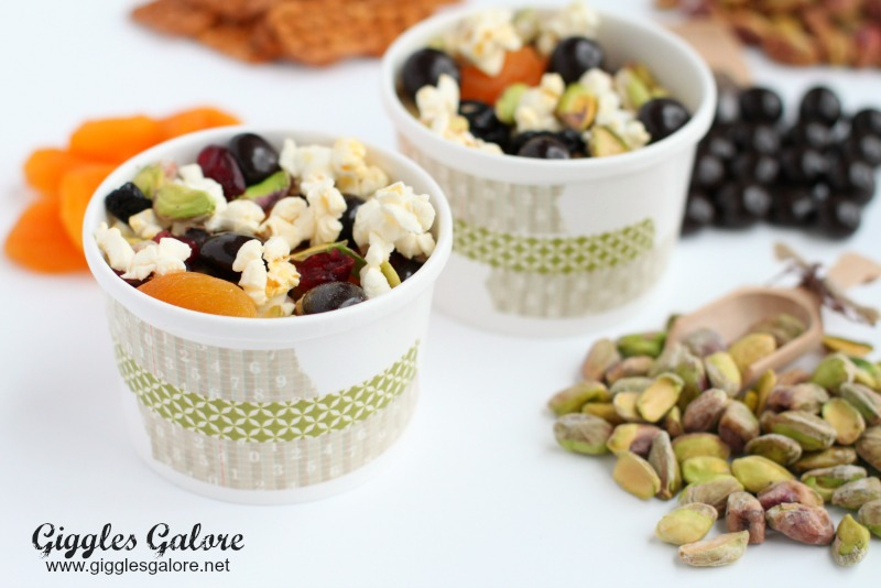 Pistachio Trail Mix Cups