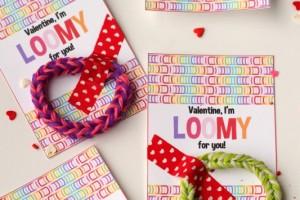 Rainbow Loom Valentine