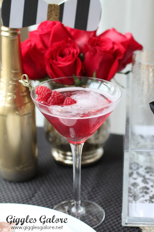 Red Carpet Tini Oscar Party Ideas