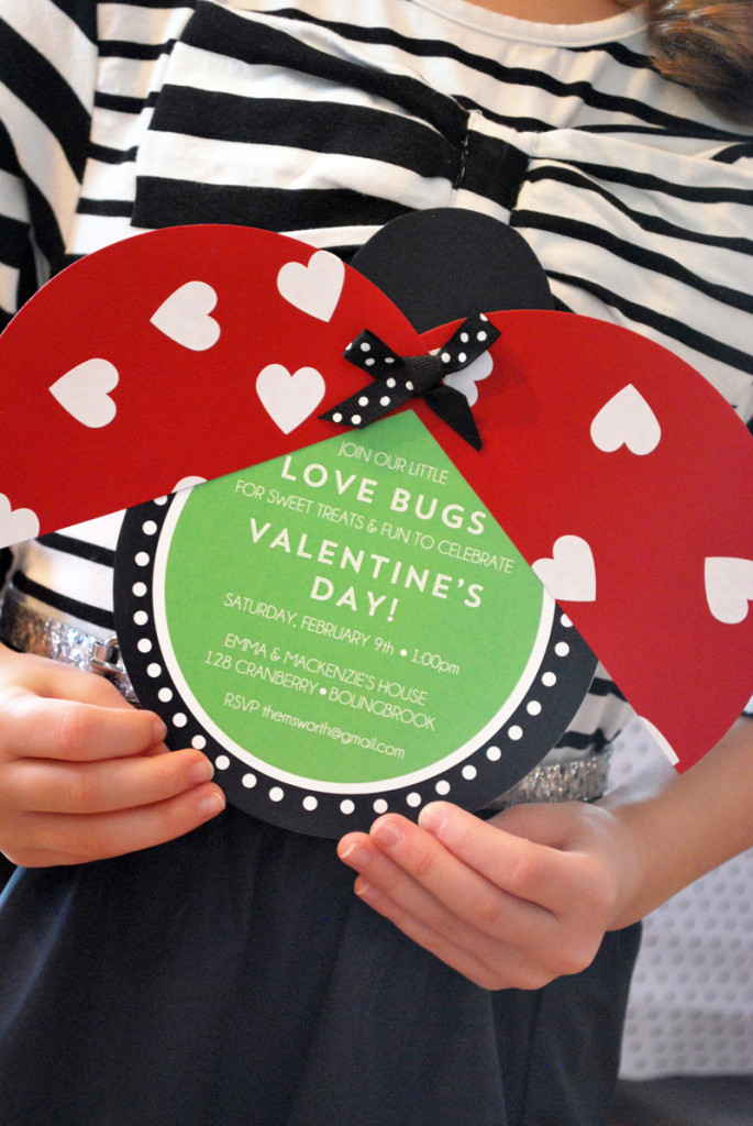 love bug invitation