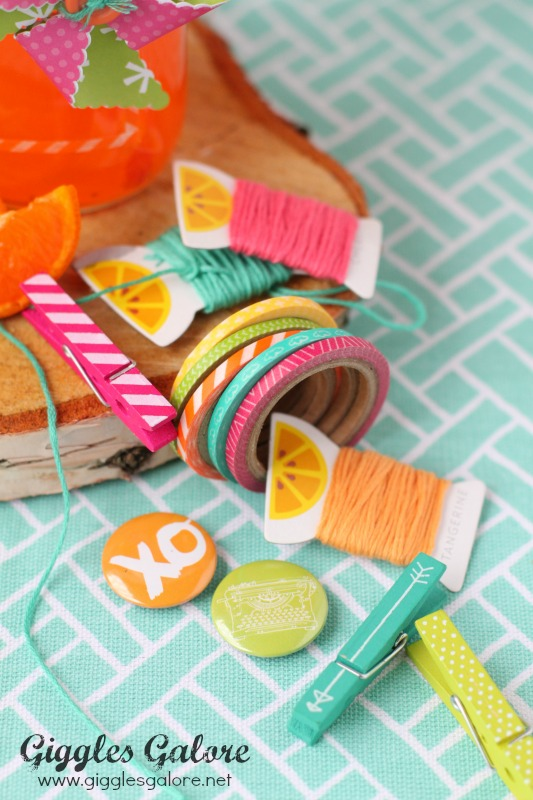 Amy Tangerine Plus One Embellishments