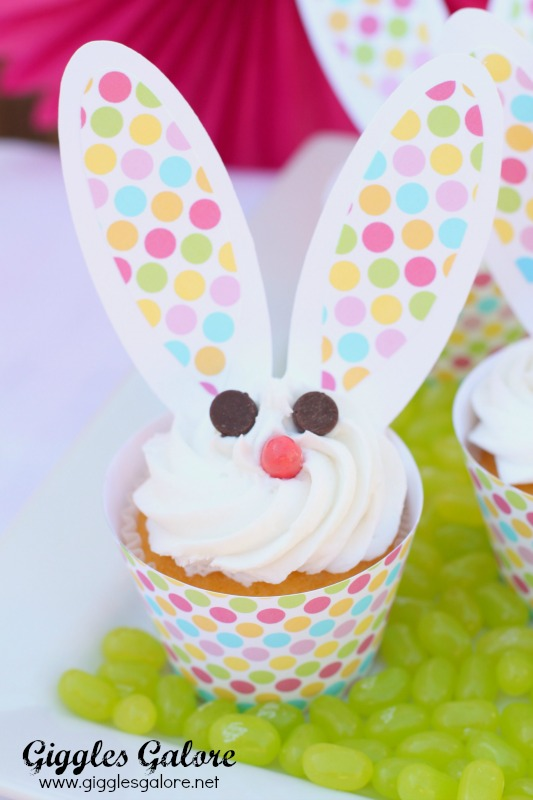 Bunny Cupcakes_Giggles Galore