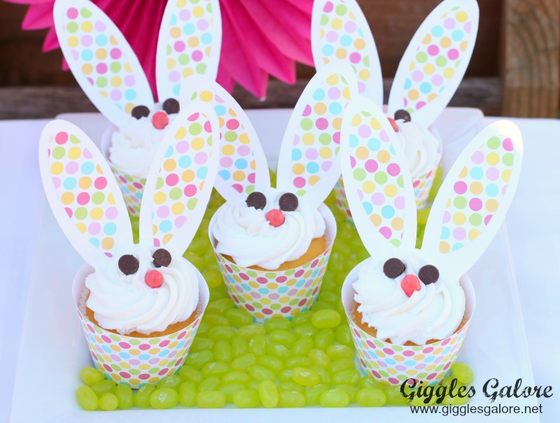 Bunny Cupcakes_Giggles Galore_2