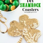DIY Shamrock Coasters