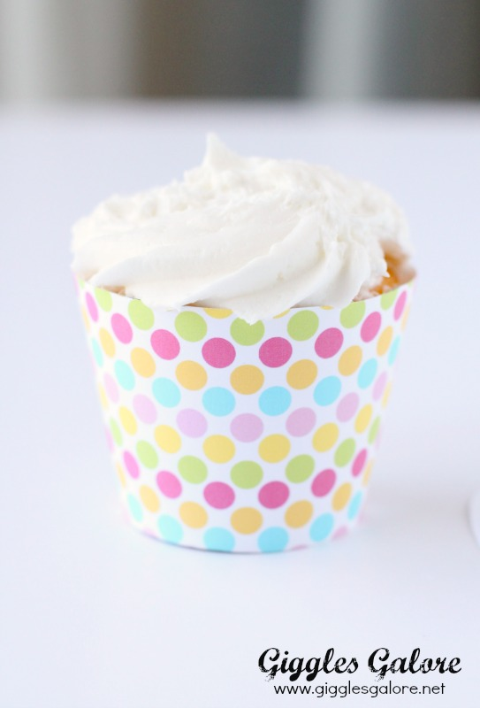Easter Cupcake Wrapper