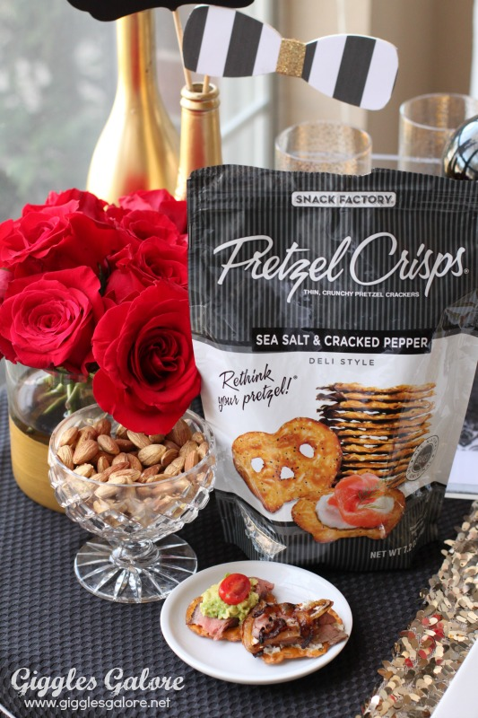 Giggles Galore Pretzel Crisps Steak Bites