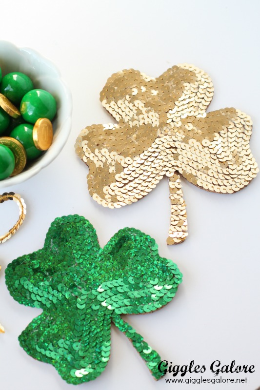 Green DIY Shamrock Coaster
