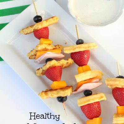 Healthy Breakfast Kabobs