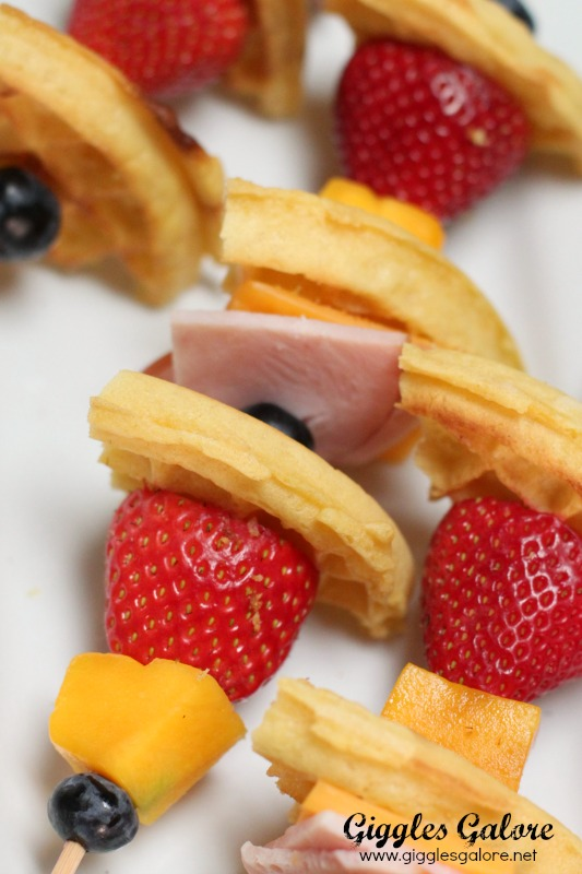 Healthy Fruit Breakfast Kabob