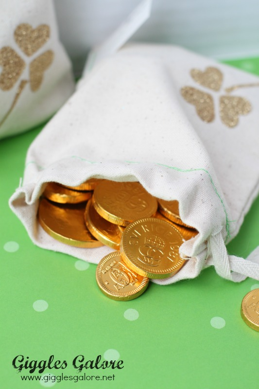 Lucky Favor Bag with Gold Coins