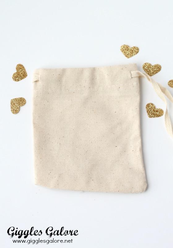 Muslin Favor Bag