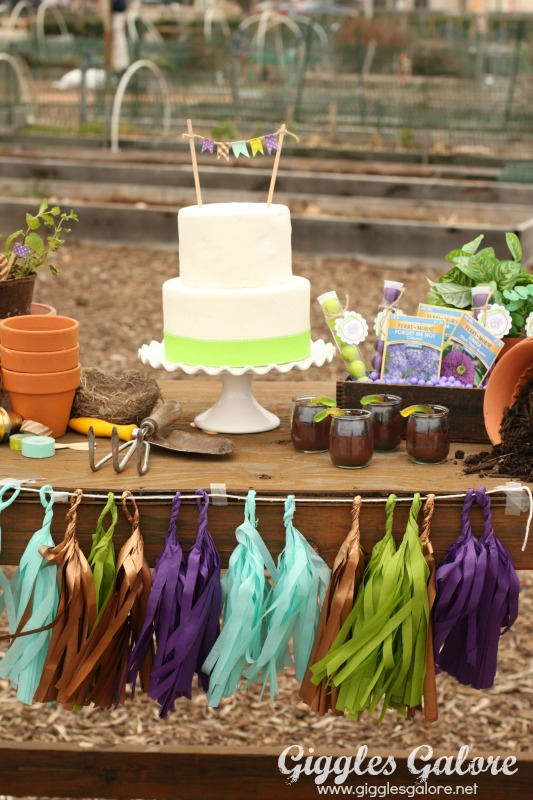 Spring Planting Party Dessert Table_GG