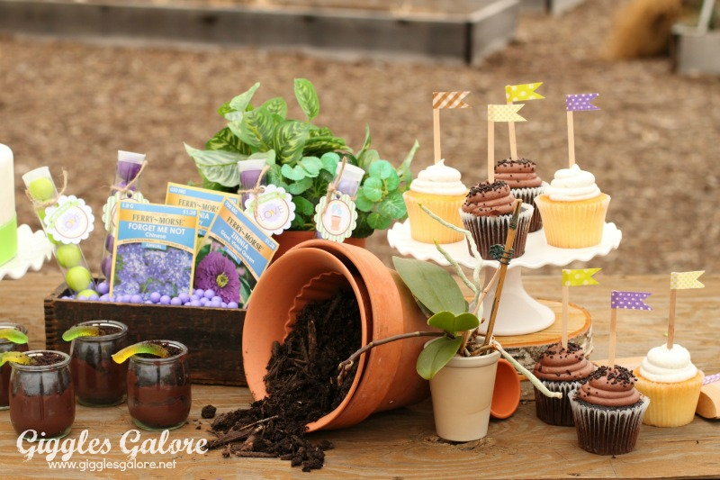Spring Planting Party Desserts_Giggles Galore