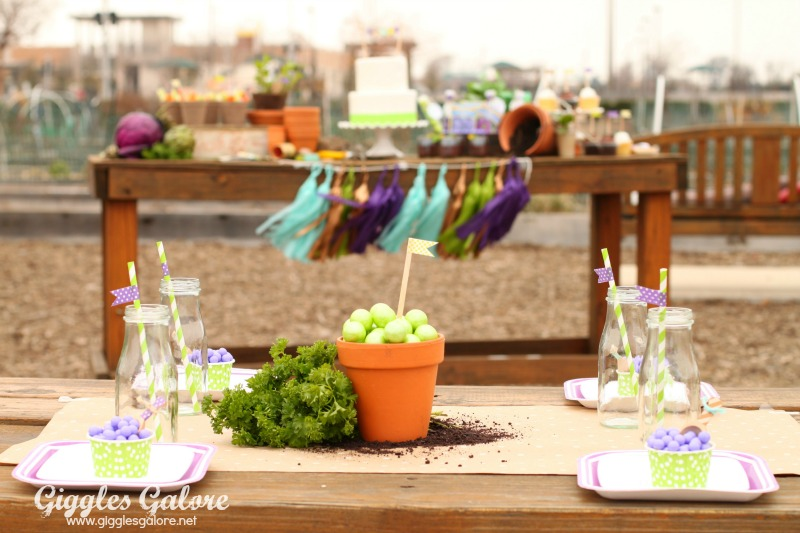 Spring Planting Party Kids Table_Giggles Galore