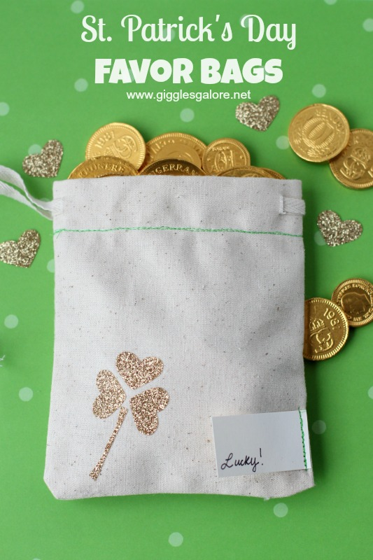 St Patricks Day Favor Bags_Giggles Galore